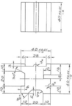 磨床电路图7475